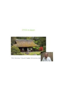ETICS in Japan