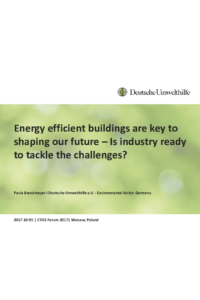 Energy efficient buildings are key to shaping our future – Is industry ready to tackle the challenges?