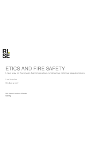 ETICS AND FIRE SAFETY - Long way to European harmonization considering national requirements