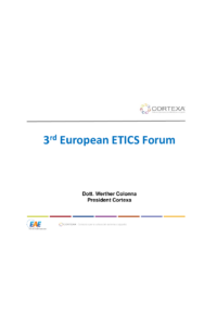 European Guideline for the Application of ETICS